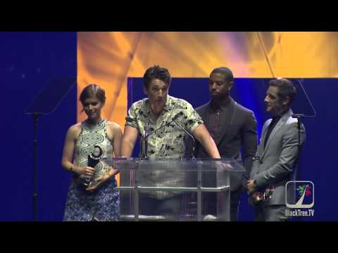 FANTASTIC FOUR wins CinemaCon Award (Jamie Bell, Michael B. Jordan, Kate Mara and Miles Teller)