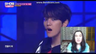 [Reaction Rus.] ShowChampion EXO - Monster (live)