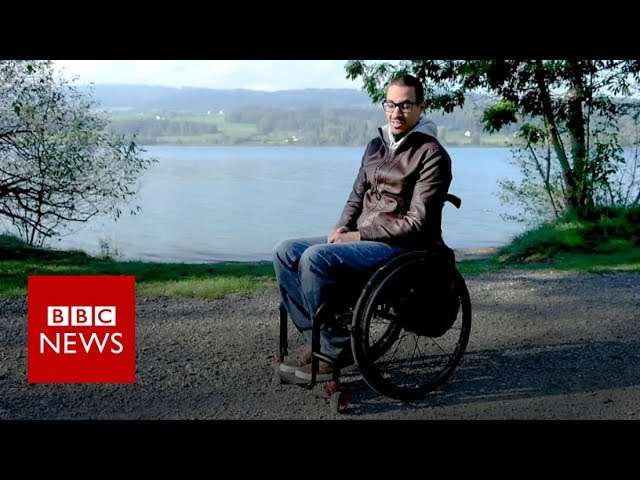 Paralysed men walk again with spinal implant - BBC News