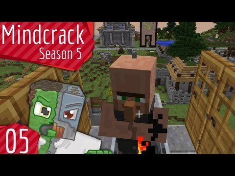 Infinite Villager Breeder — Mindcrack Server Season 5 — Episode 5
