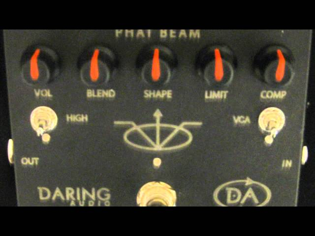 Daring Audio Phat Beam Demo by Trip Wamsley HD HQ