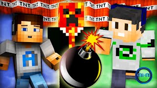 "Minecraft BOMB WARS! - ""TNT BOMB FIGHT!"" - w/ Ali-A, Nade & Preston"