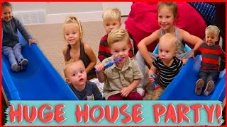 🎉 KIDS HUGE HOUSE PARTY! 🎉
