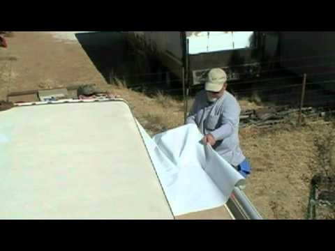How To Remove And Install Your New Replacement Slide Out Awning Fabric 01.avi