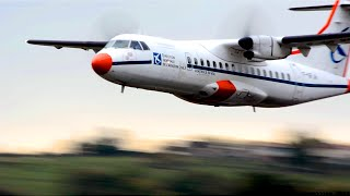 [Extreme Low Pass] - ATR42-300 Calibra actions at Albi-Le Séquestre airport [LBI/LFCI]
