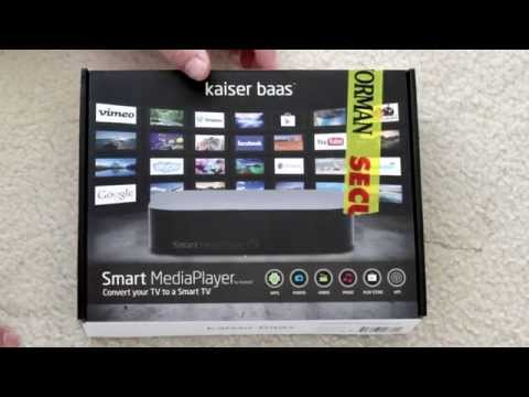 Kaiser Bass Smart Media Player - Unboxing