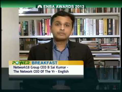 Network18's CNBC-TV18, CNN-IBN, IBN 7 sweep ENBA 2013