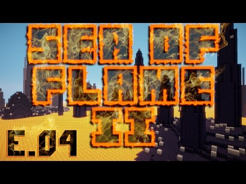 Minecraft Super Hostile - Sea of Flame II - Episode 4 - We're in the map