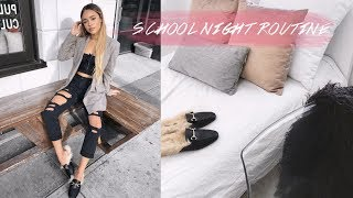 MY SCHOOL NIGHT TIME ROUTINE | Maria Bethany