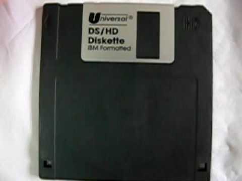 "3.5"" 1.44MB Floppy Disk, IBM FORMATTED - Black  (10 pcs + 1 Free)"