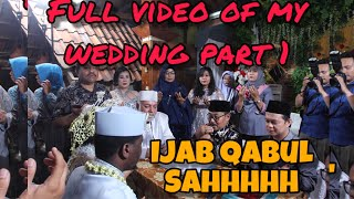 Indonesian - African Wedding day Part 1, AKAD NIKAH, VIDEO PERNIKAHAN AFRIKA - INDONESIA