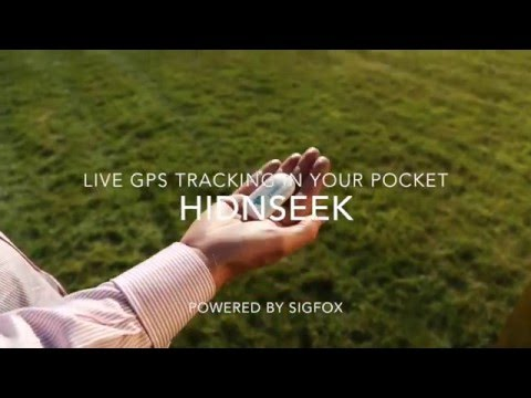 Live GPS Tracking in your pocket with HIDNSEEK