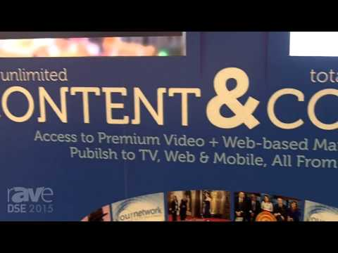 DSE 2015: Wovenmedia Shows the Wovenmedia Platform with Content Publisher