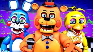 Five Nights at Freddy's Song (FNAF 2 SFM Toy)(µThunder Remix)