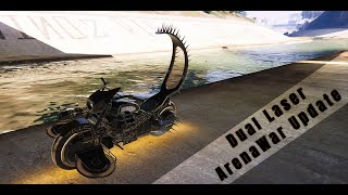 GTA V ARENA WAR*** Benefactor Apocalypse and Western Deathbike MadMax upgrade and Plasma Gun