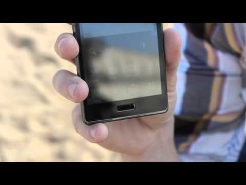 MWC 2012 - LG Optimus L7, the beauty on the beach