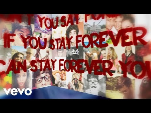Avril Lavigne - Here&#039;s To Never Growing Up (Lyric Video)