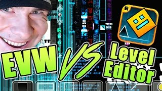 Geometry Dash Level Editor FOR THE FIRST TIME (On Stream)