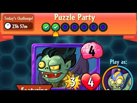 Puzzle Party | 3 January 2018 | Plants vs. Zombies Heroes