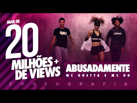 Abusadamente - MC Gustta e MC DG | FitDance TV (Coreografia) Dance Video thumbnail