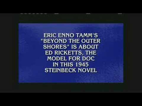 Eric Enno Tamm on gameshow Jeopardy