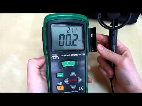 Анемометр CEM DT 618