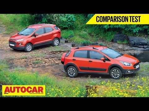Fiat Avventura VS Ford EcoSport | Comparison Test | Autocar India