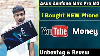 Asus zenfone max pro m2 Titanium Unboxing & full Review😍 | Honest revew best budget phone