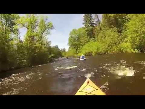 Namekagon River kayak trip Cable WI