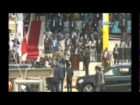South Sudan's 3rd Independence Anniversary - The arrival of President Salva Kiir