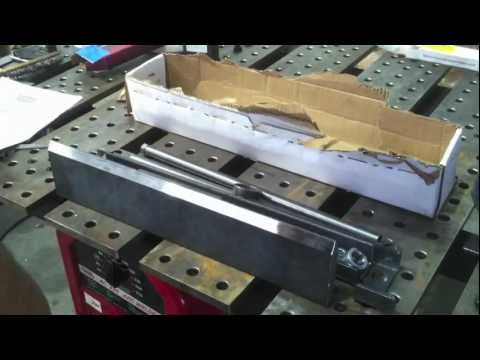 Hydraulic Shop Press Brake DIY Kit