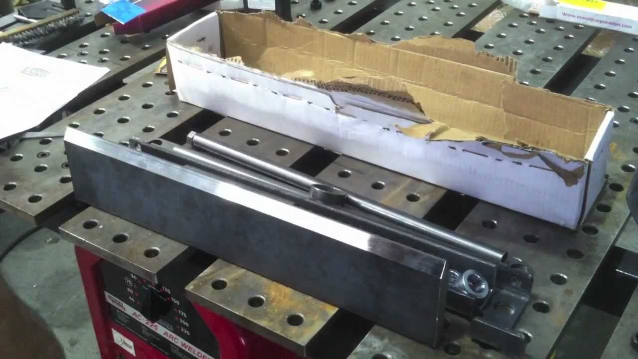 Hydraulic Shop Press Brake Diy Kit Youtube