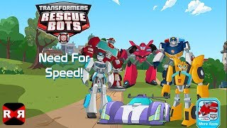 Transformers Rescue Bots: Need For Speed - Best Interactive Storybook Adventure App For Kids