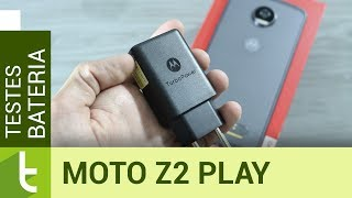 Autonomia do Moto Z2 Play | Teste oficial de bateria do TudoCelular