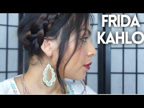 Maquillaje & Peinado :  Frida Kahlo | Super Facil