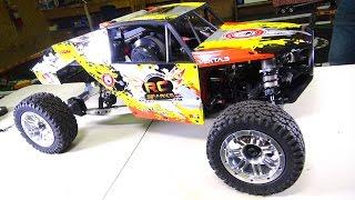 KRAKEN VEKTA 5 gets a HEART!  32cc GAS POWERED RACE MACHiNE | RC ADVENTURES