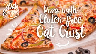 Pizza with Gluten-free Oat Crust