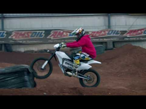 Zero Electric Motorcycle TRIALS with Phil Smage