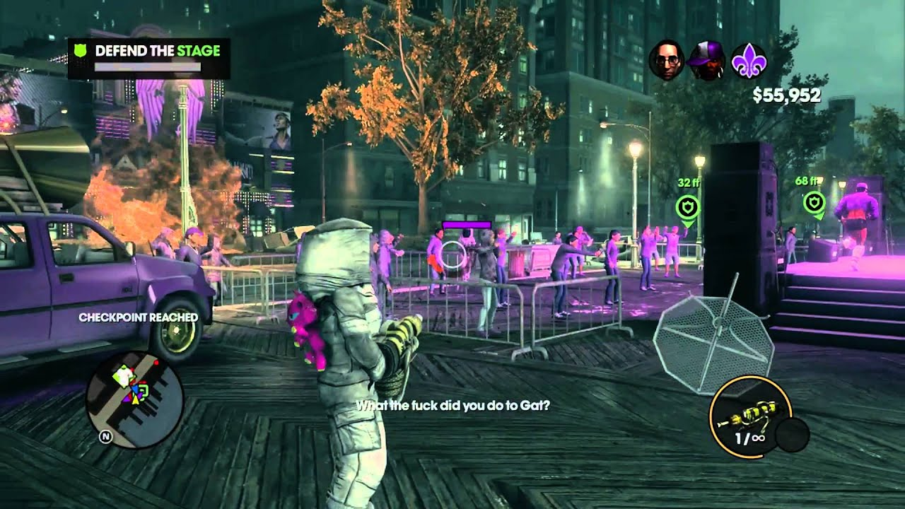 Saints Row: The Third - Co-Op w/Xcal Pt.57 - YouTube