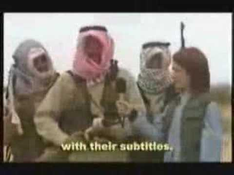 Funny Subtitle Iraq interview