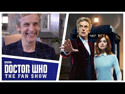 Peter Capaldi Talks Series 9 and 10 - Doctor Who: The Fan Show