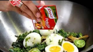 Royco Masak Apa Hari Ini: Telur Lado Hijau