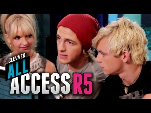 R5 Radio Disney Takeover Behind-the-Scenes - Clevver All Access with R5 Episode 4