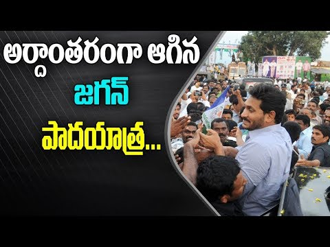YS Jagan Padayatra Postponed, Due to his Health Condition | ABN Telugu