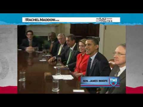 Rachel Maddow-Getting to know Sen. James Inhofe