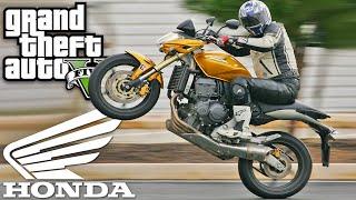 GTA 5 Moto Honda HORNET