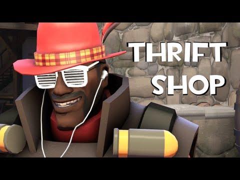[sfm] Thrift Shop Music Video video
