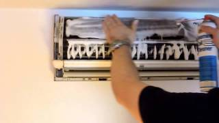 HEAT PUMP-AIR CONDITIONER CLEANING DIY