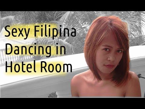 Filipina cutie dancing in my room