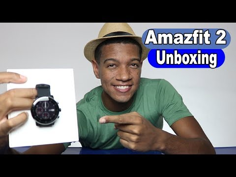 Xiaomi Huami Amazfit Smartwatch 2   Stratos   Pace 2   UNBOXING
